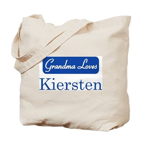 Grandma Loves Kiersten Tote Bag