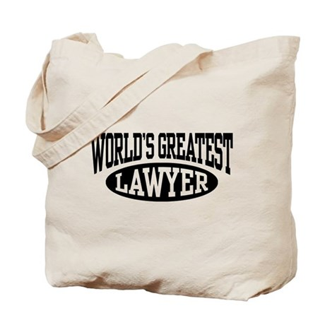 World's Greatest Lawyer Tote Bag