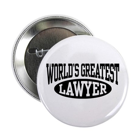 """World's Greatest Lawyer 2.25"""" Button"""