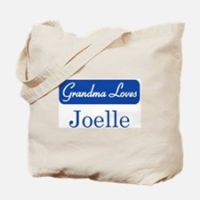 Grandma Loves Joelle Tote Bag