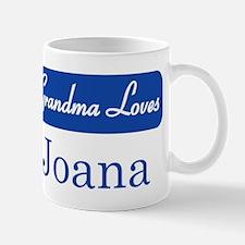 Grandma Loves Joana Mug