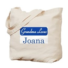 Grandma Loves Joana Tote Bag