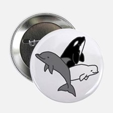 Cetacean Trio Button