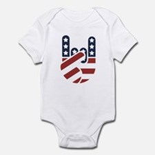Rock Hand USA Infant Bodysuit