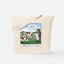 Tofu Cow Tote Bag