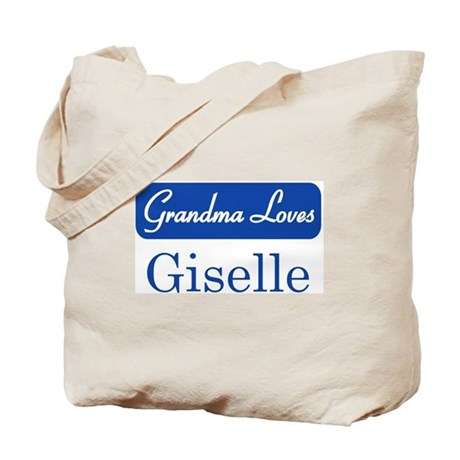 Grandma Loves Giselle Tote Bag