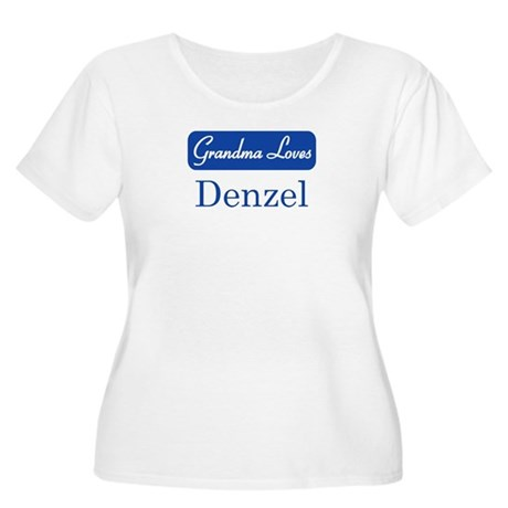 Grandma Loves Denzel Women's Plus Size Scoop Neck