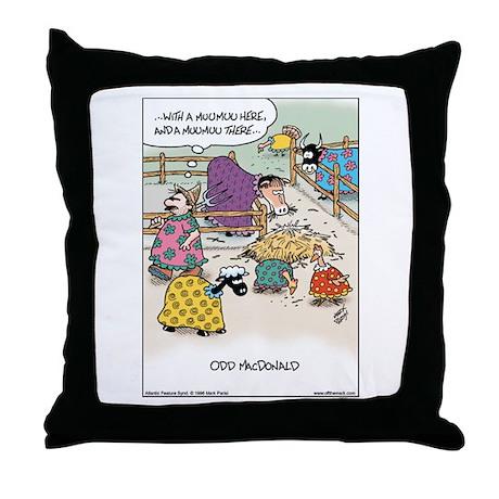 Odd MacDonald Throw Pillow