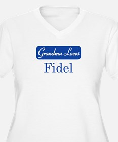 Grandma Loves Fidel T-Shirt