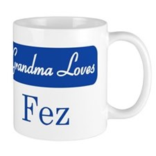 Grandma Loves Fez Mug