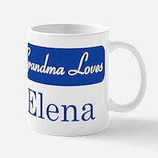 Grandma Loves Elena Mug
