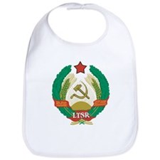 Lithuanian SSR Coat Of Arms Bib
