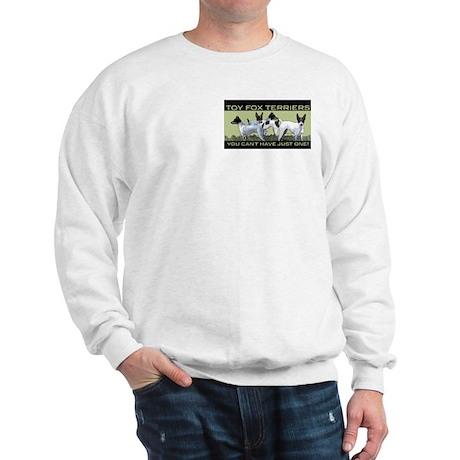 toy fox terrier group Sweatshirt