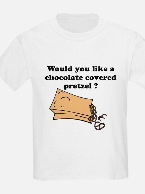Chocolate covered pretzel T-Shirt