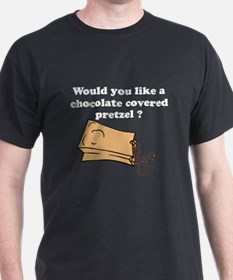 Chocolate covered pretzel T-Shirt