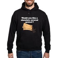 Chocolate covered pretzel Hoody
