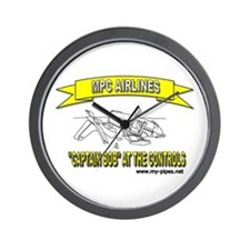 MPC AIRLINES Wall Clock