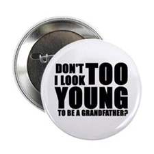 "Cute Great grandfather to be 2.25"" Button (100 pack)"