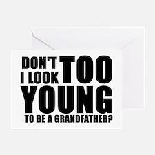 Cute Too young grandma Greeting Cards (Pk of 10)