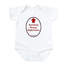 Ketchup Krazy Infant Bodysuit