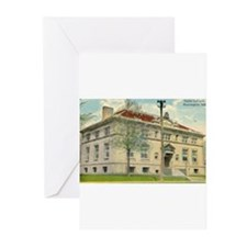 Carnegie Library 1 Huntington Greeting Cards (Pk o