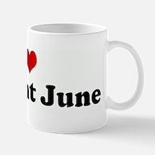 I Love my Aunt June Mug