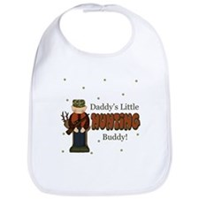 Daddy's Little Hunting Buddy Bib