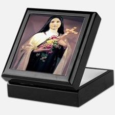 St. Therese Keepsake Box
