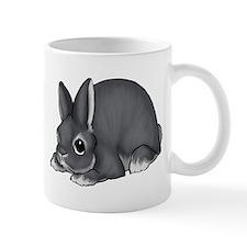Blue Silver Marten Mug