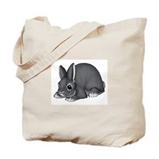 Blue Silver Marten Tote Bag