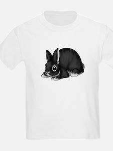 Black Silver Marten T-Shirt