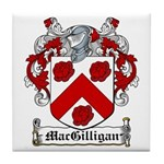 MacGilligan Coat of Arms Tile Coaster