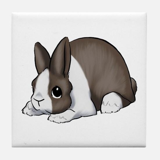 Chocolate Dutch Tile Coaster