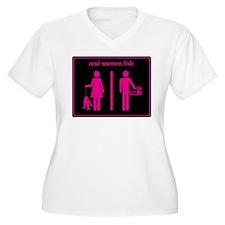 Real Women Fish T-Shirt
