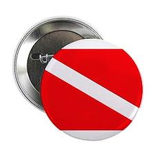 "Diver Down Flag 2.25"" Button"