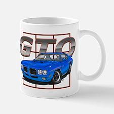Blue Pontiac GTO Mug