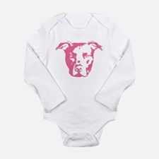 American Pit Bull Terrier Infant Creeper Body Suit