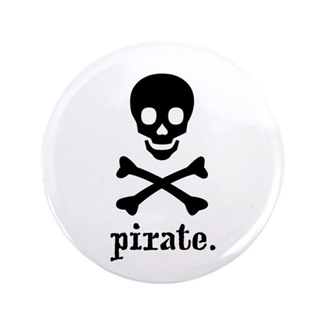 "Pirate Shop 3.5"" Button"