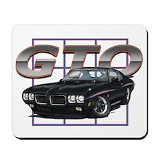 Black Pontiac GTO Mousepad