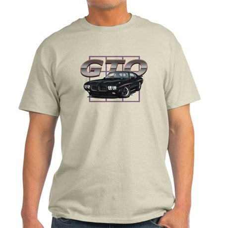 Black Pontiac GTO Light T-Shirt