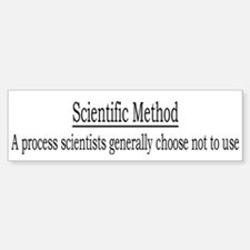 Sci. Method Def. Bumper Bumper Bumper Sticker