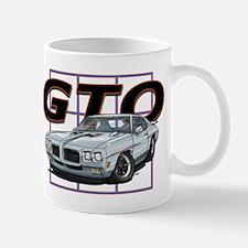 Silver Pontiac GTO Mug