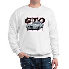 Silver Pontiac GTO Sweatshirt