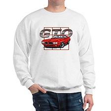 Red Pontiac GTO Sweatshirt
