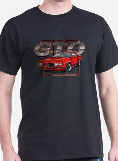 Red Pontiac GTO T-Shirt