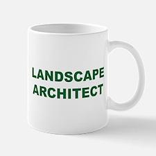 Landscape Architects do it Outside - Small Small Mug