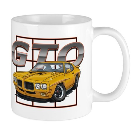 Orbit Orange Pontiac GTO Mug