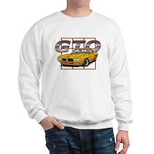 Orbit Orange Pontiac GTO Sweatshirt