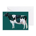 Holstein Cow Greeting Cards (Pk of 10)