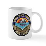 North Slope Borough PD Mug